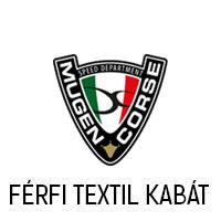 MUGEN RACE  FÉRFI MOTOROS TEXTIL KABÁT
