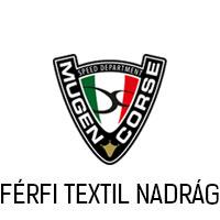 MUGEN RACE FÉRFI MOTOROS TEXTIL NADRÁG