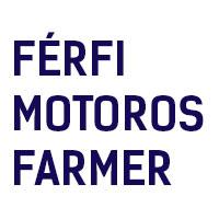 FÉRFI MOTOROS FARMER NADRÁG