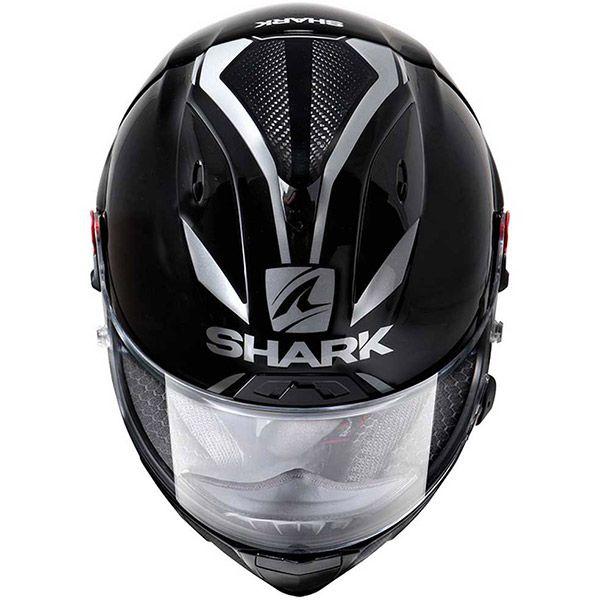Shark Bukósisak RACE-R PRO GP 30th Anniversary Black-Carbon-Pearl-KDP