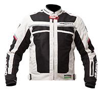 Mugen Race Női Motoros Textil Kabát 1731 W Világos Szürke
