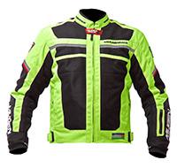 Mugen Race Női Motoros Textil Kabát 1731 W Fluo