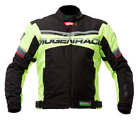 Mugen Race Motoros Textil Kabát 1735 Fluo