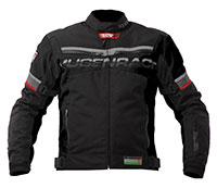 Mugen Race Motoros Textil Kabát 1735 Fekete