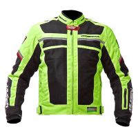 Mugen Race Motoros Textil Kabát 1731 Fluo
