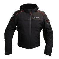 Mugen Race Motoros Textil Kabát 1989 Fekete-Piros