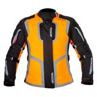 Mugen Race Női Motoros Textil Kabát 1145 Narancs