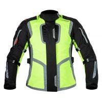 Mugen Race Női Motoros Textil Kabát 1145 Fluo