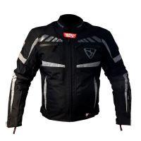 Mugen Race Motoros Textil Kabát 1835 Fekete
