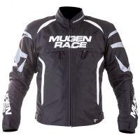 Mugen Race Motoros Textil Kabát 1836 Fekete