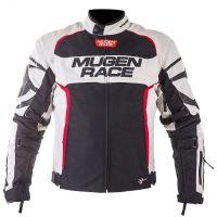 Mugen Race Motoros Textil Kabát 1836 Fekete-Piros