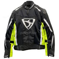 Mugen Race Motoros Textil Kabát 2025 Mesh Fekete-Fluo