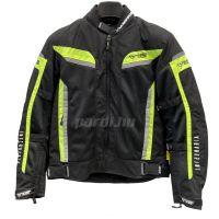 Mugen Race Motoros Textil Kabát 2026 Mesh Fekete-Fluo