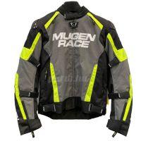 Mugen Race Motoros Textil Kabát 2029 Fekete-Fluo