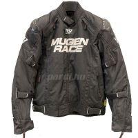 Mugen Race Motoros Textil Kabát 2029 Fekete