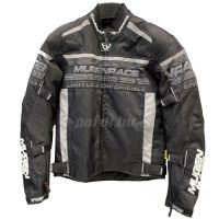 Mugen Race Motoros Textil Kabát 2032 Fekete