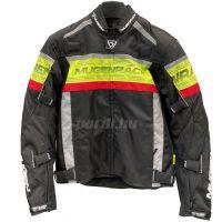 Mugen Race Motoros Textil Kabát 2032 Fekete-Fluo-Piros