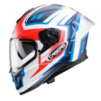 Caberg bukósisak Drift Evo Gama H7 Matt White - Red Fluo - Blue