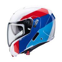 Caberg bukósisak Horus Scout D6 White Metal - Red - Blue - Light Blue