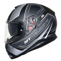 MT Bukósisak Thunder 3 SV Trace Matt Black Gray