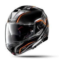 NOLAN Bukósisak N100-5 Balteus N-COM Glossy Black 44