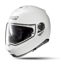 NOLAN Bukósisak N100-5 Classic N-COM Metal White 5