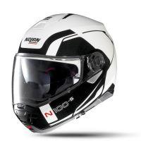 NOLAN Bukósisak N100-5 Consistency N-COM Metal White 19