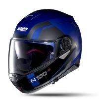 NOLAN Bukósisak N100-5 Consistency N-COM Flat Cayman Blue 24