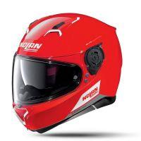 NOLAN Bukósisak N87 Emblema N-COM Corsa Red 75