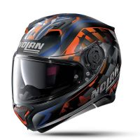 NOLAN Bukósisak N87 Venator N-COM Flat Black 91