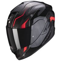 Scorpion Bukósisak EXO-1400 Air Fortuna Black - Red