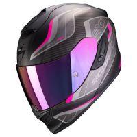 Scorpion Bukósisak EXO-1400 Air Attune Matt Black - Pink