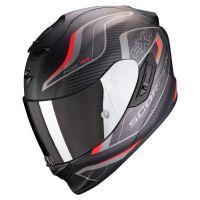 Scorpion Bukósisak EXO-1400 Air Attune Matt Black - Red