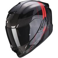 Scorpion Bukósisak EXO-1400 Air Carbon Drik Black - Red