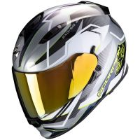SCORPION BUKÓSISAK EXO-510 AIR BALT SILVER - WHITE - NEON YELLOW
