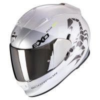 SCORPION BUKÓSISAK EXO-510 AIR PIQUE WHITE - SILVER