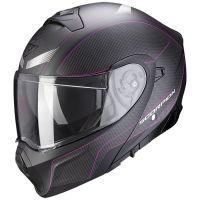 Scorpion Bukósisak EXO-930 Cielo Matt Black - Pink