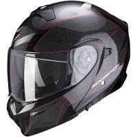 Scorpion Bukósisak EXO-930 Cielo Pearl Black - Red