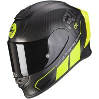 Scorpion Bukósisak EXO-R1 Carbon Air Corpus 2 Matt Black - Neon Yellow