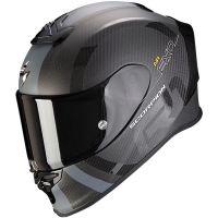 Scorpion Bukósisak EXO-R1 Carbon Air MG Matt Black - Silver