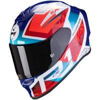 Scorpion Bukósisak EXO-R1 Air Infini White - Red - Blue