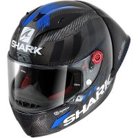 Shark Bukósisak RACE-R PRO GP LORENZO WINTER TEST 99 Carbon-Anthracite Blue-DAB