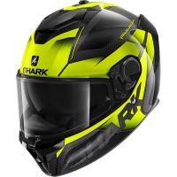 Shark Bukósisak Spartan Carbon GT Shestter Carbon-Yellow-Yellow-DYY