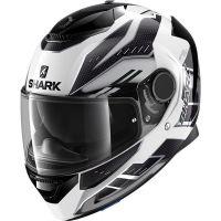 Shark Bukósisak Spartan Antheon White-Silver-Black-WSK